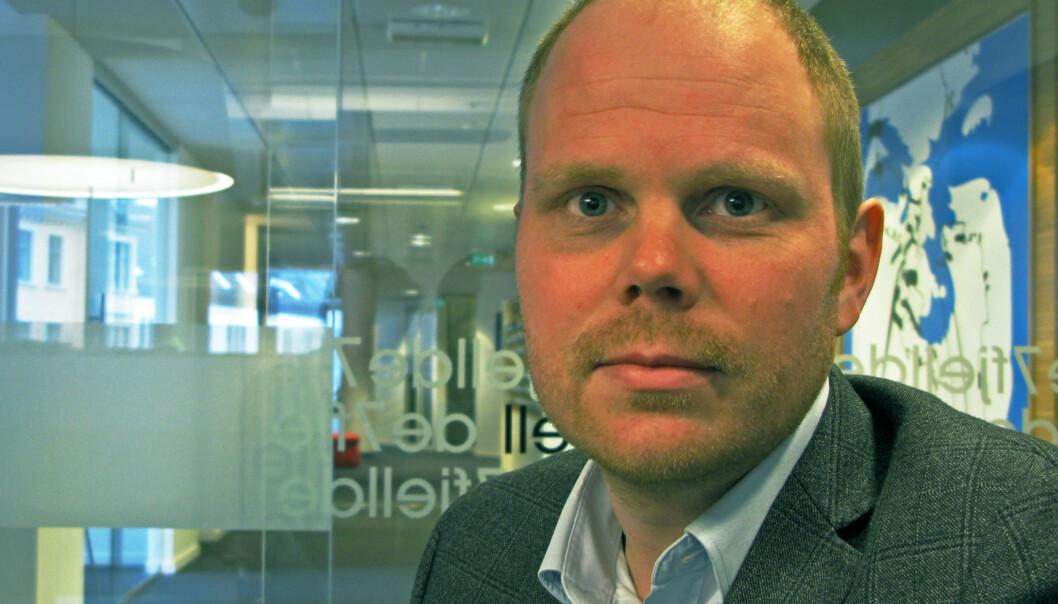 Fungerende sjefredaktør Gard Steiro i Bergens Tidende. Foto: Martin Huseby Jensen