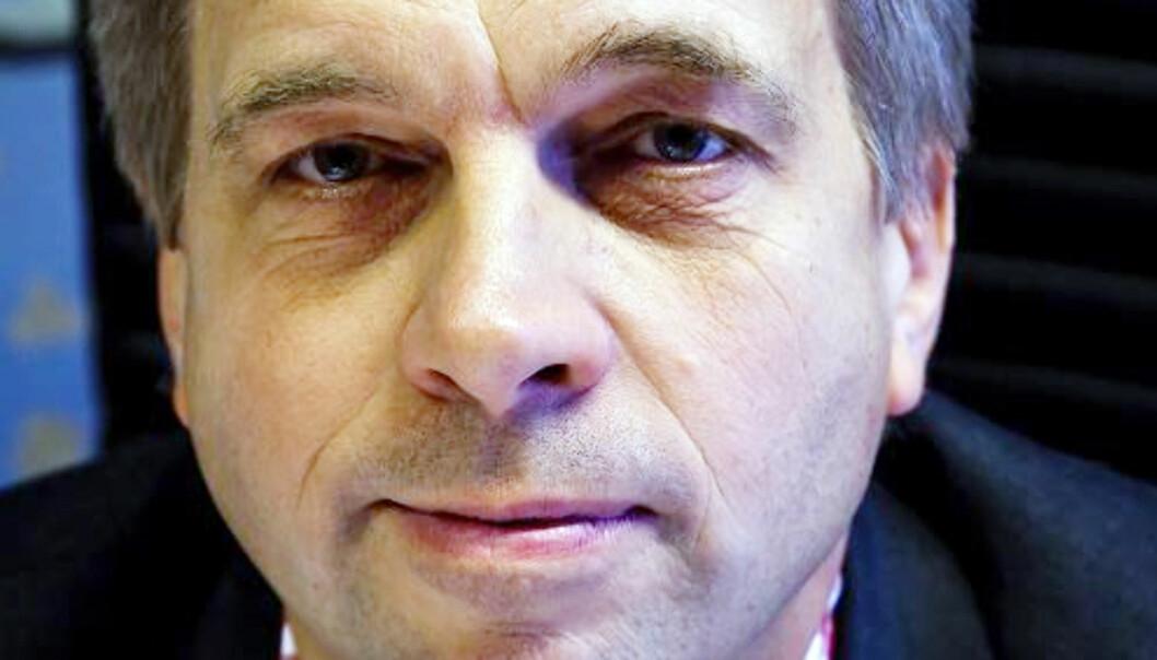 Sjefredaktør Geir Terje Ruud i danske Ekstrabladet mener leserne vil ha både politikk og underholdning. Foto: Kathrine Geard