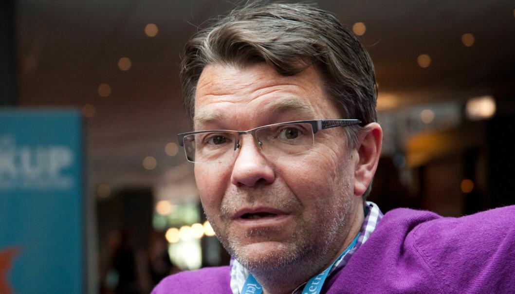Bjørn Olav Nordahl forlater Vårt Land. Foto:Kathrine Geard