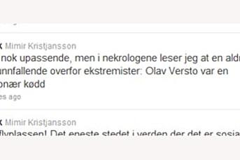 Kalte Olav Versto en kødd