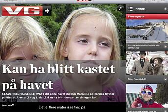 VG for drøyt én femti dagen