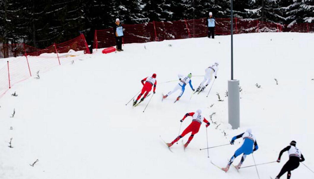 VM på ski i Holmenkollen.