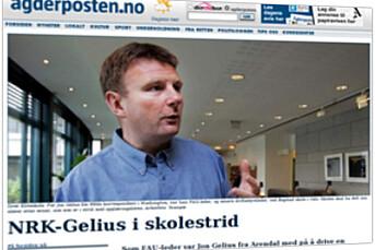 Agderposten trakk Gelius-sak