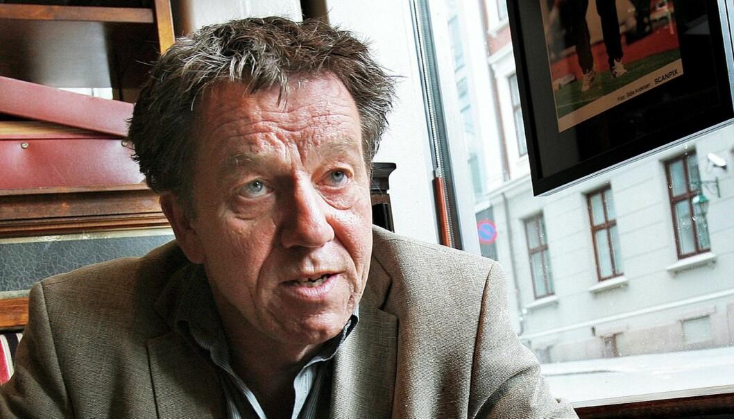 Sven Arne Buggeland, konserntillitsvalgt i Schibsted. Foto: Ernst Olsen