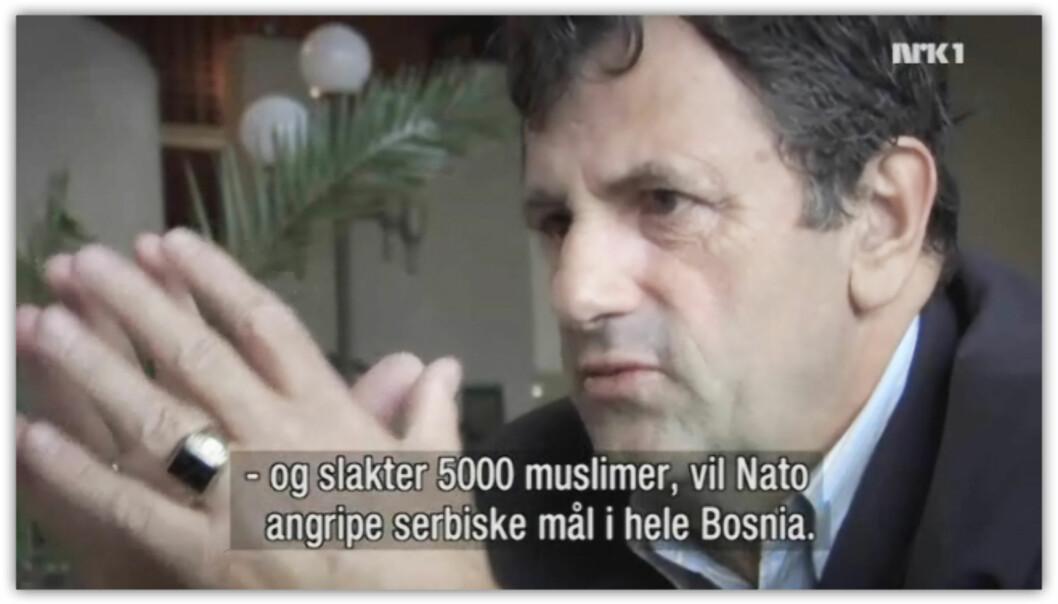 Brennpunkt: Byen som kunne ofres. (Skjermdump fra NRK/Fenris Film)