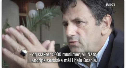 På villspor om Srebrenica