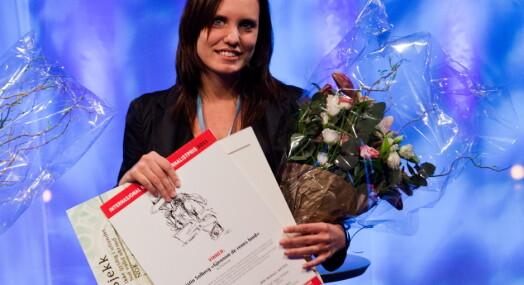 Solberg fikk IR-prisen