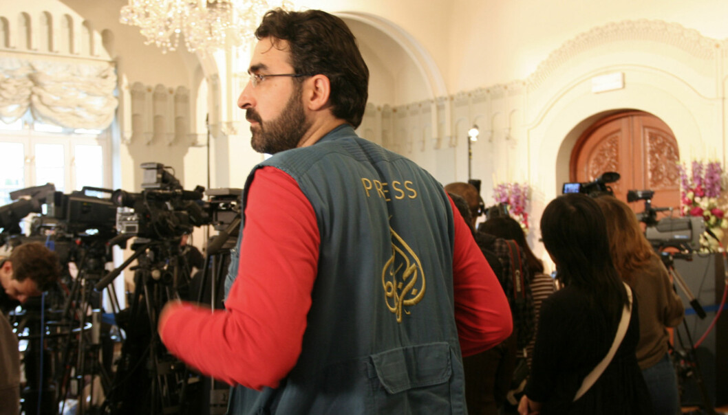 NJ inviterer til søttemarkering for Ammar al-Hamdan klokka 13.30. Foto: Martin Huseby Jensen