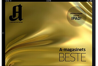 A-magasinet røper iPad-pris