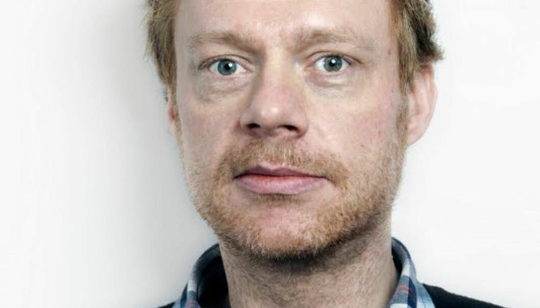 SJEF:  - Vi skal ha en god og trygg arbeidsplass, sier Kristian Brustad. FOTO: LO MEDIA
