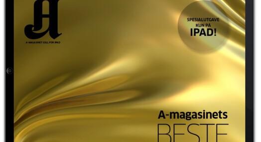 A-magasinet klar for iPad