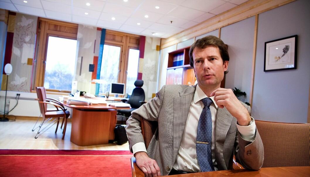 Konsernsjef Per Axel Koch. Foto: Thor Nielsen