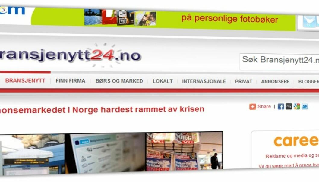 Faksimile fra bransjenytt24.no
