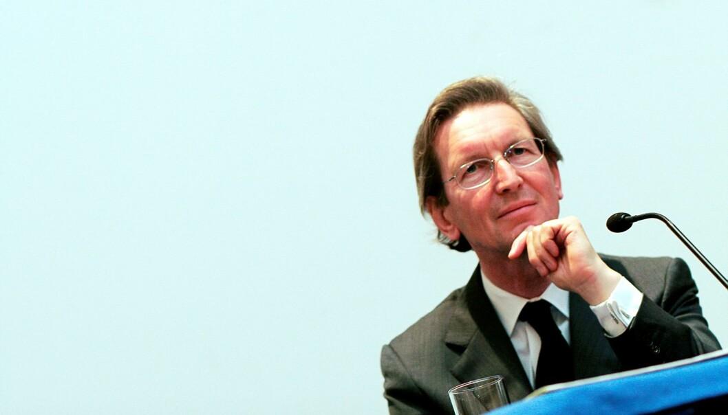 David Montgomery da han møtte norsk presse for aller første gang den 2. juli 2006. Foto: Birgit Dannenberg.