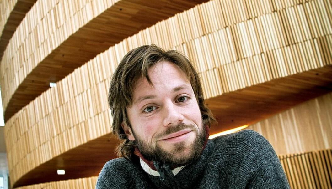 Johannes Wahlström. Foto: Kathrine Geard.