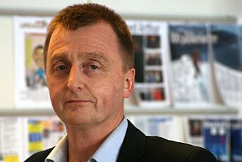 Redaktør går for å bli ordfører
