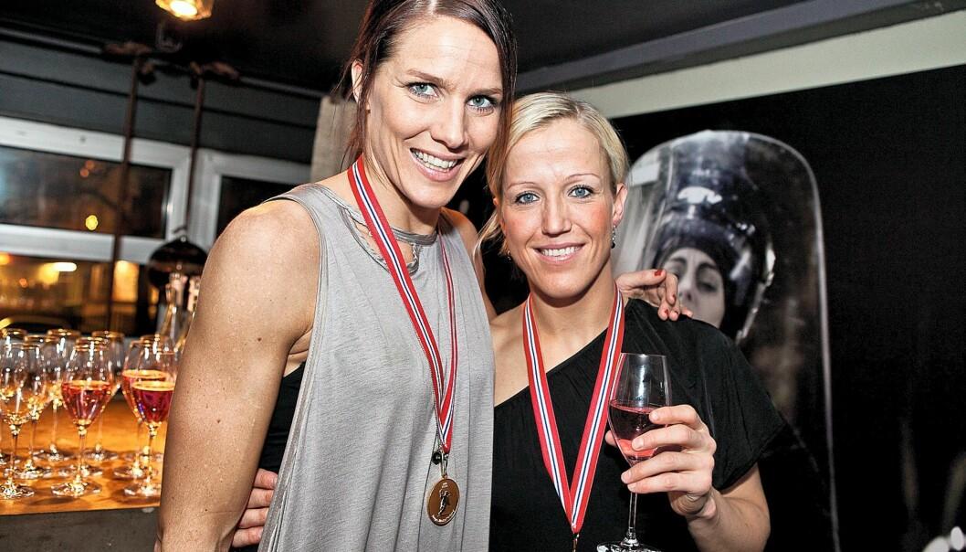 Dette bildet av Gro Hammerseng og Heidi Løke ville ikke Se og Hør ha på nett. Foto: Peder Torp Mathisen/Østlandsposten