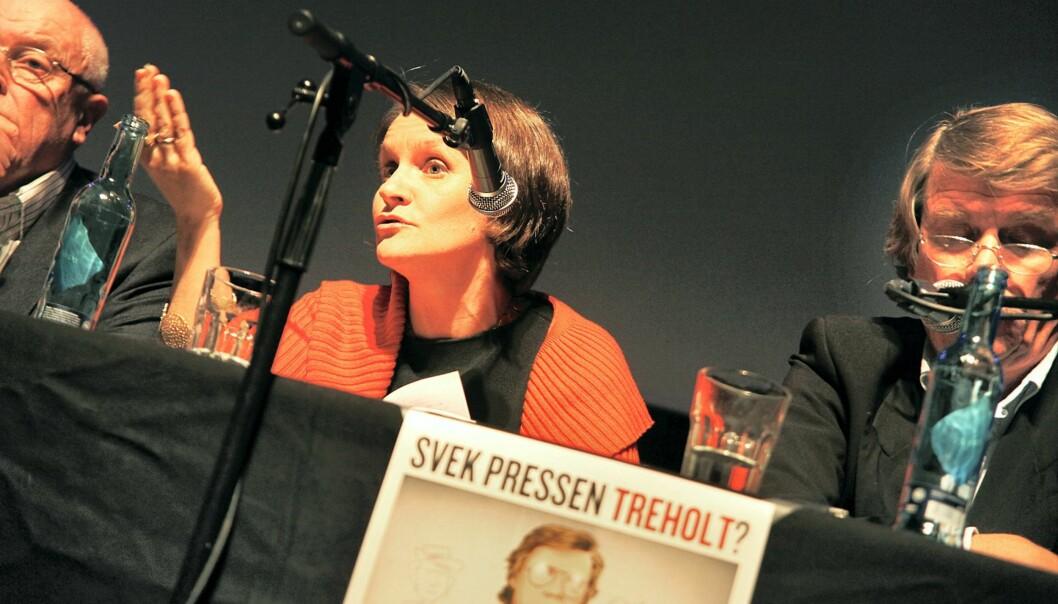 Juryleder Hanne Skartveit mener det er grunnlag for å dele ut prisen Årets Avistegning årlig. Arkivfoto: Kathrine Geard