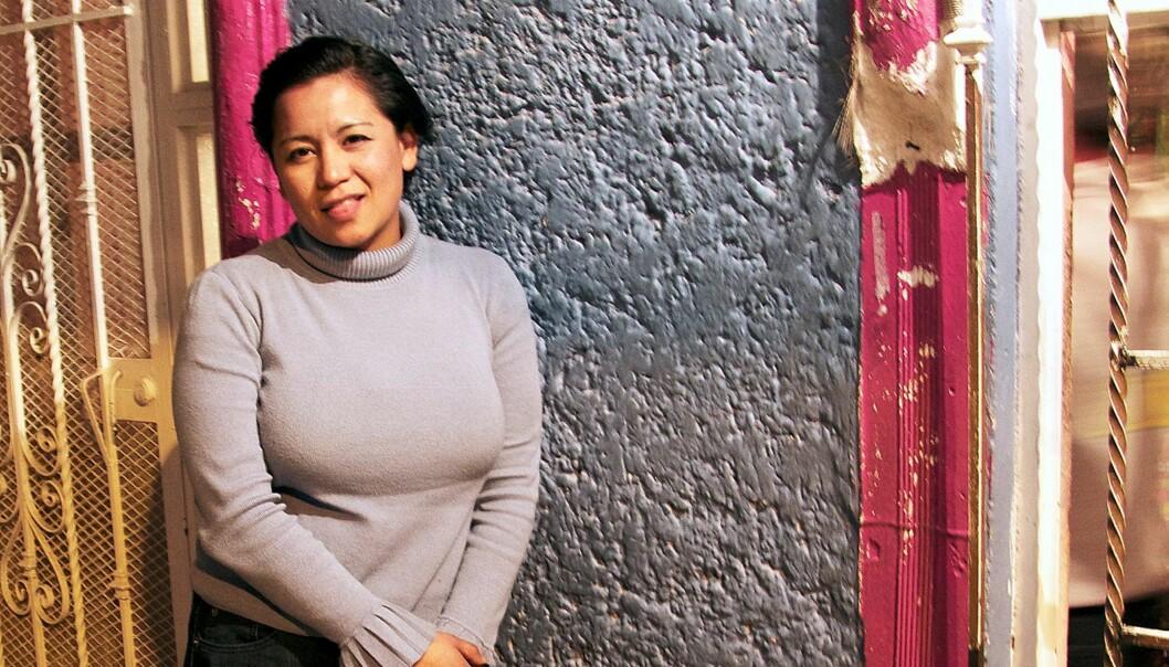 Alicia Fernandez er fotograf for avisa El Diario i Juarez, Mexico.  Foto: Mette Risa