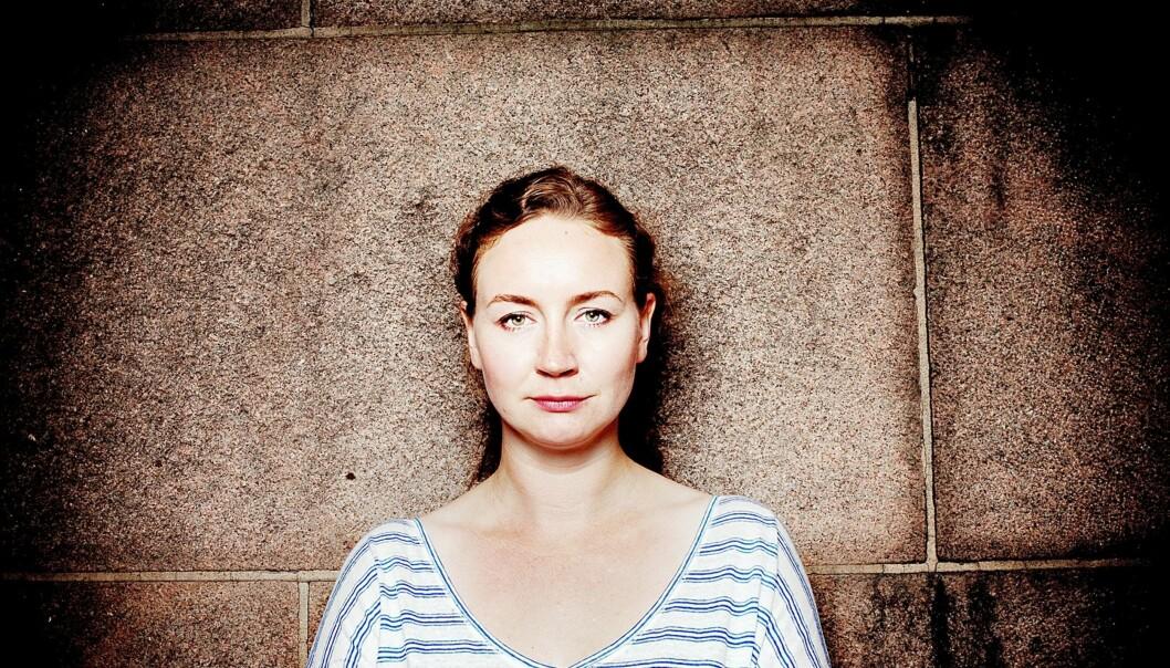 Kaia Storvik stiller serverplass til disposisjon for Wikileaks. Foto: Hilde Unosen/Dagsavisen