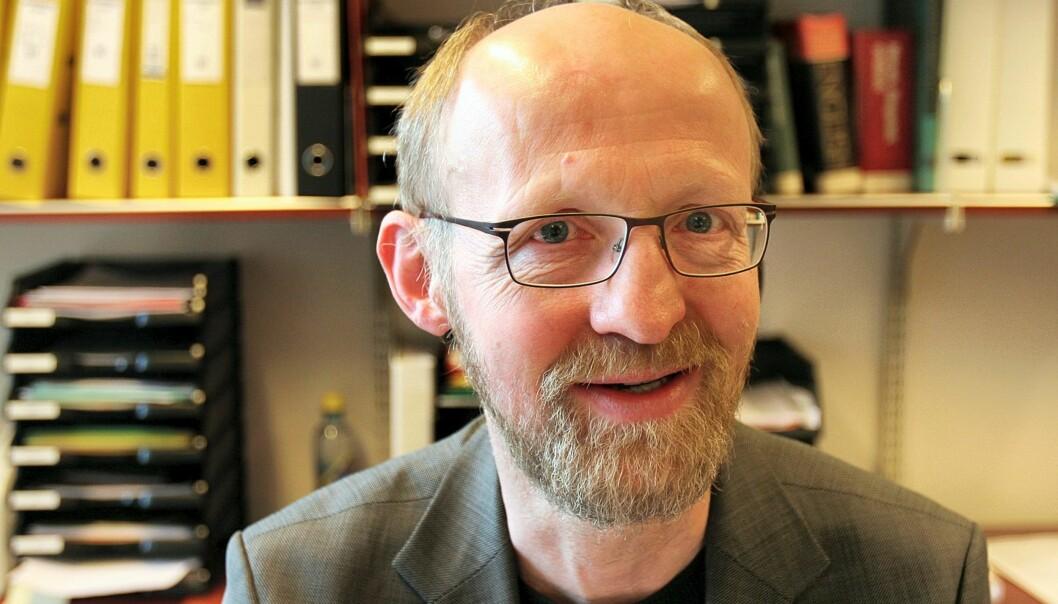 Utvalgsleder Yngve Slettholm. Foto: Kathrine Geard