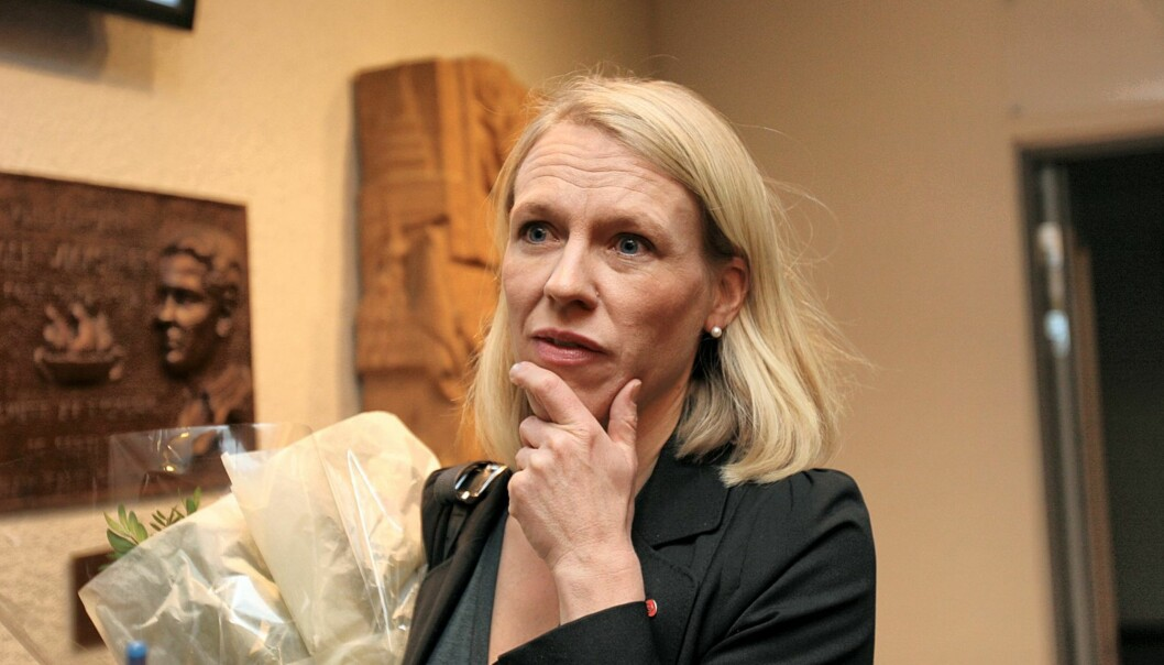 Kulturminister Anniken Huitfeldt. Foto: Birgit Dannenberg