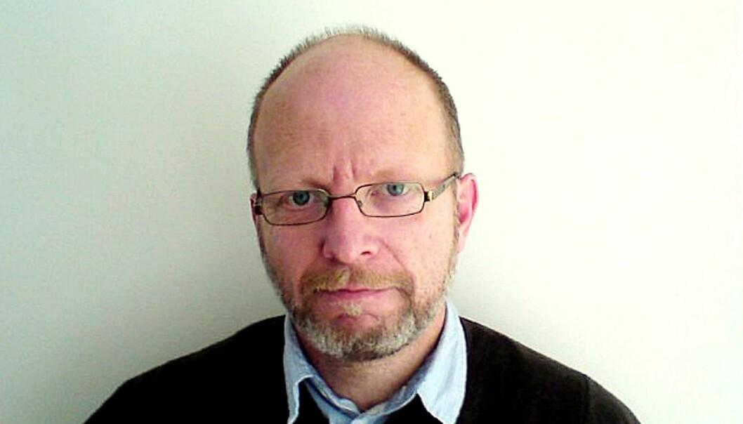 Geir Selvik Malthe-Sørenssen. Bildet ble tatt i forbindelse med en boklansering i 2010. Foto: Kathrine Geard