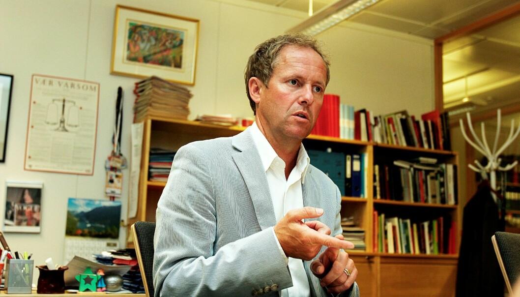 Sjefredaktør i NTB Pål Bjerketvedt skal holde foredrag for kommunikatørene. Foto: Birgit Dannenberg