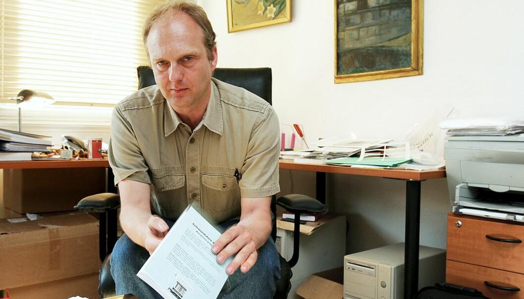 FOTORETT: Advokat Andreas Galtung skriver ny bok om fotorett. Foto: Kathrine Geard