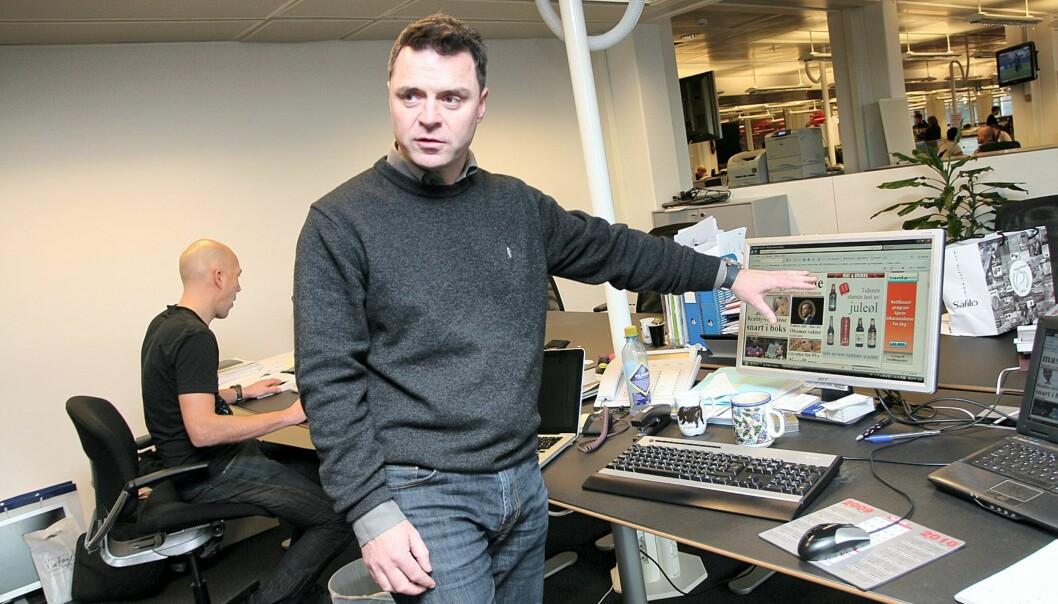 Sjefredaktør i VG Nett, Espen Egil Hansen. Foto: Birgit Dannenberg