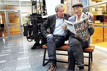 VG med avisbud i helgen