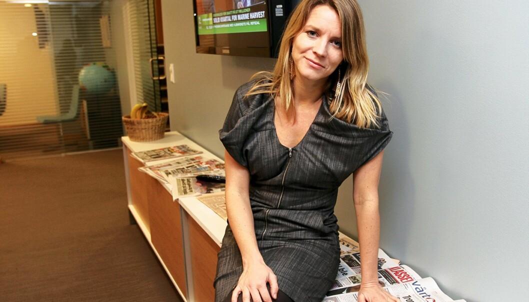 Ragnhild Imerslund i Utenriksdepartementet vant fram med sin kritikk av Novemberfilm. Foto: Kathrine Geard