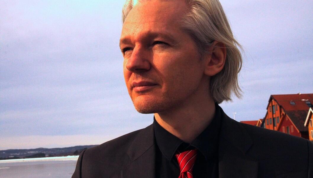 Julian Assange. Foto: Espen Moe.