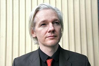 Julian Assange i Tønsberg.