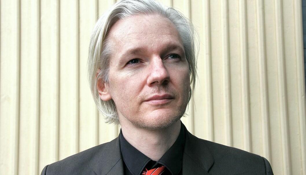 Julian Assange og Wikileaks lekket 92.000 dokumenter. Foto: Espen Moe.