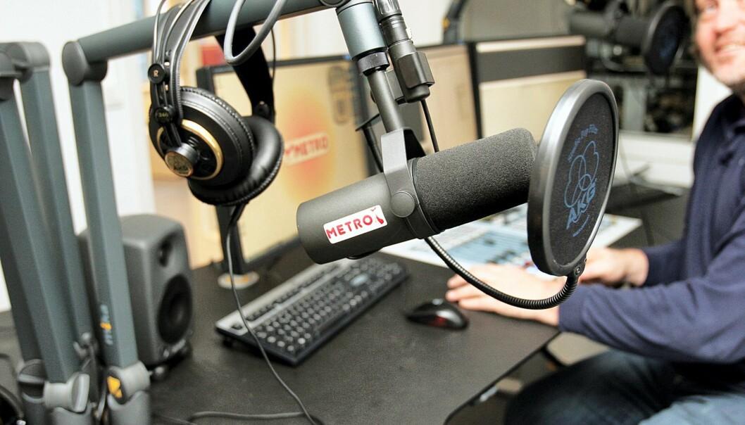 Det vil ikke stilles krav til lokalt innhold i lokalradio om regjeringen får Stortinget med på meldingen. Illustrasjonsfoto: Birgit Dannenberg