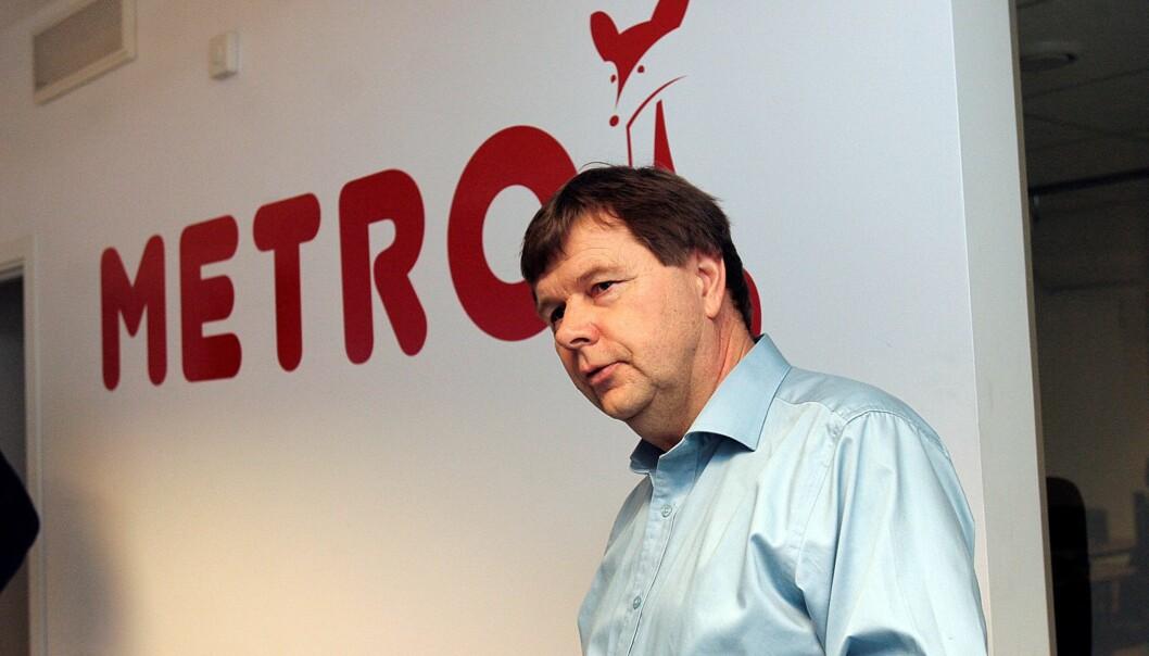 Administrerende direktør i Radio Metro, Svein Larsen. Foto: Birgit Dannenberg
