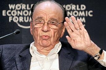 Stopp pressa: Rupert Murdoch vil nå fokusere på journalistikken