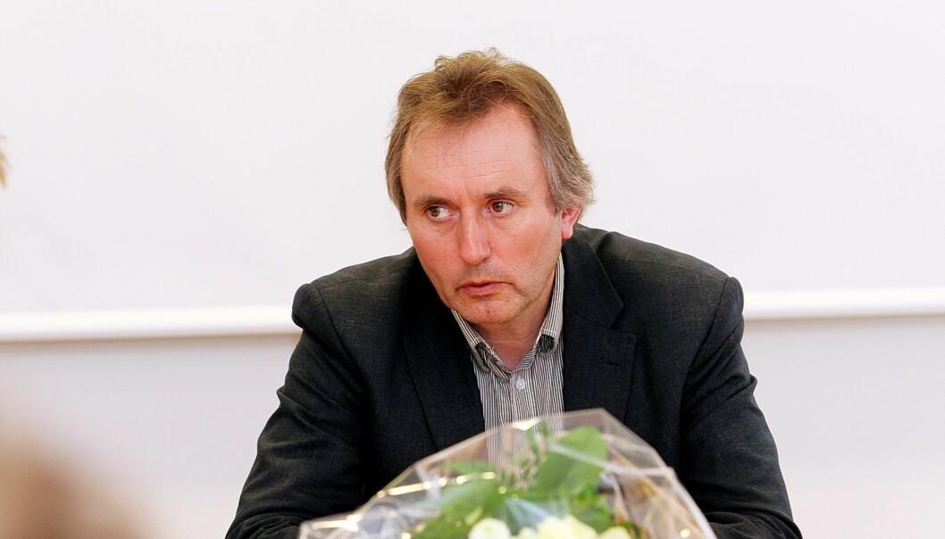 Helge Simonnes fikk med seg 18 millioner i pensjonsavtale og aksjesalg til eget selskap da han i fjor forlot Mentor Medier Foto: Birgit Dannenberg