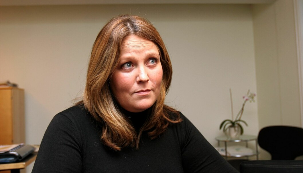 Administrerende direktør Bente Klemetsdal ønsker bedre dekning enn Radio1 får gjennom dagens sendinger fra Akershus. Foto: Birgit Dannenberg