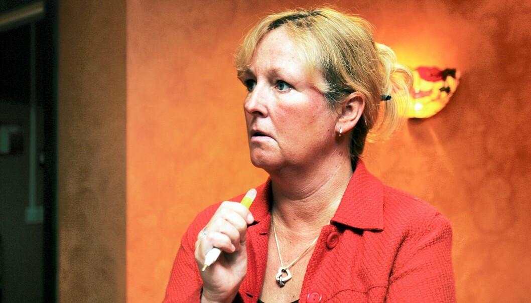Ansatterepresentant Carine Johansen. Foto: Birgit Dannenberg