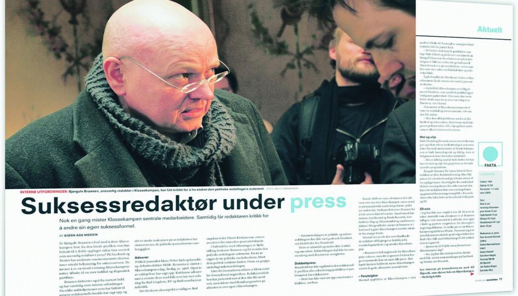 Journalisten 30. april 2010