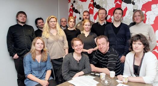 NJ-veteran streikegeneral i Oslo