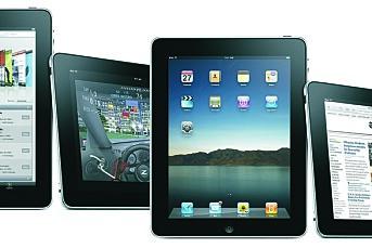 Tviler på iPad som flytebrett