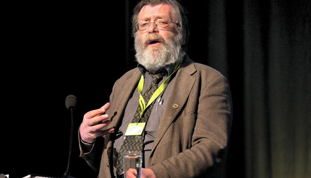 Frank Aarebrot. Foto: Eirik Helland Urke/Nordiske Mediedager