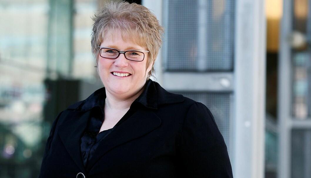 Venstres leder Trine Skei Grande. Foto: Caroline Roka/Venstre