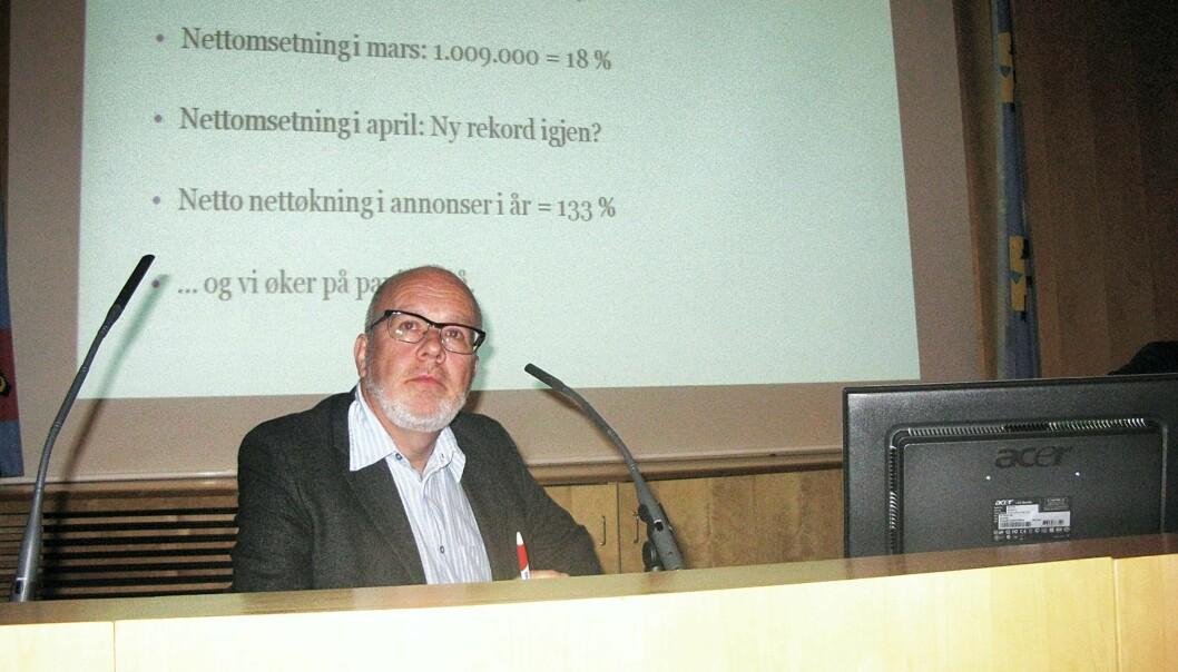 Erling Omvik. Foto: Helge Wekre