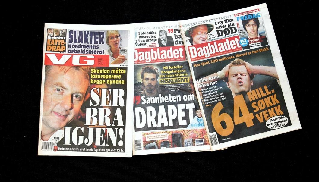 Berner Gruppen eier bl.a. Dagbladet. Illustrasjonsfoto: Birgit Dannenberg