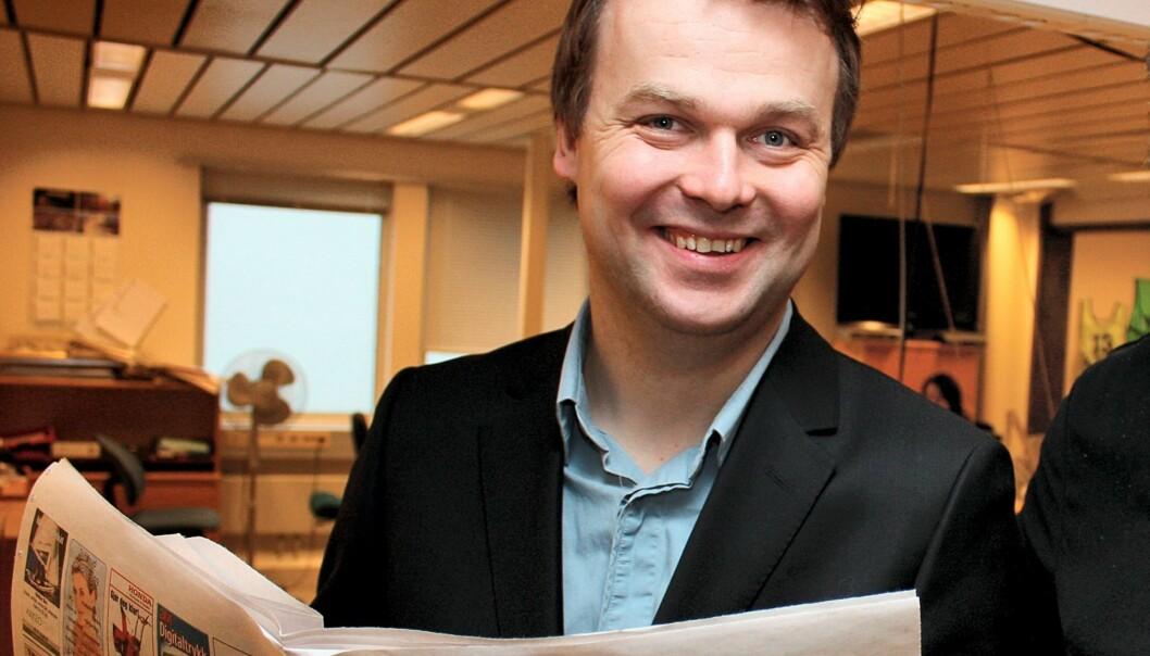 Ole Bjørner Loe Welde seiler opp som et aktuelt navn i jakten på ny sjefredaktør i Dagbladet. Foto: Kjell Herskedal / SCANPIX