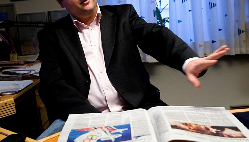 Kjetil Stormark godtar ikke politiets forelegg. Foto: Jan Inge Haga
